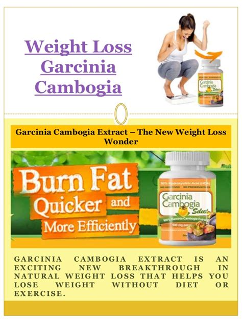 why can't you use garcina cambogia if you picture 7