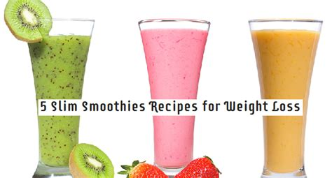 weight loss smoothies homemade picture 1