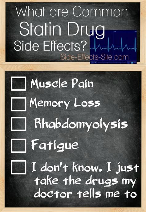 cholesterol medication muscle pain side effects picture 5
