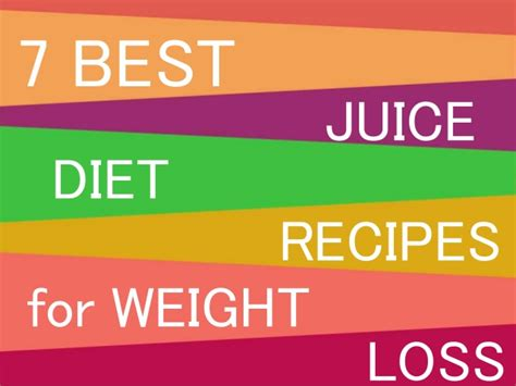 weight loss juicing fasts picture 6