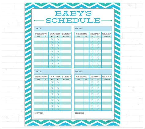 infant sleep schedule picture 2