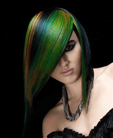 color hair green picture 2
