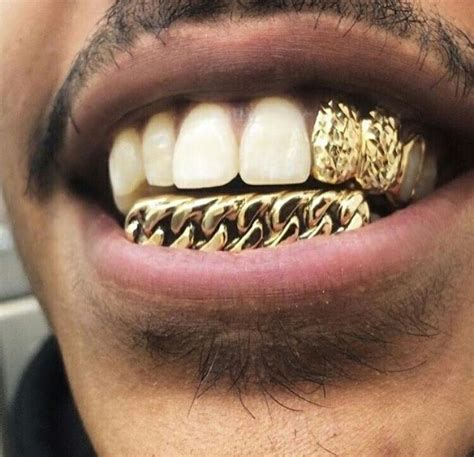 blue teeth grill picture 13
