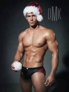 muscle men christmas picture 5