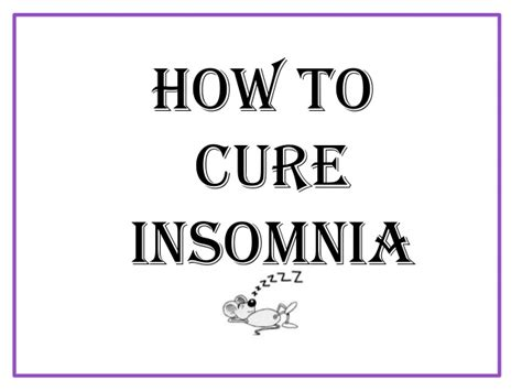 curing insomnia picture 1