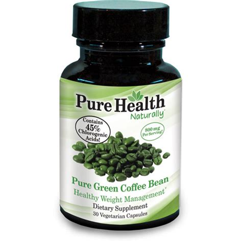 pure green coffee bean pills picture 1