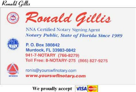 business from home as a notary agent picture 1