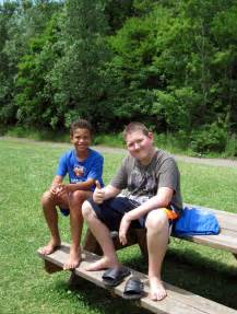 a boy at camp asked to my picture 3