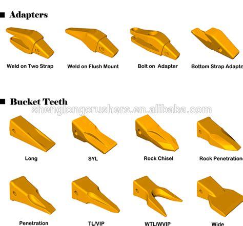 caterpillar backhoe bucket teeth broken picture 5