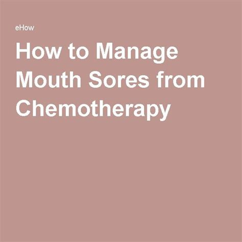 chemotherapy and sore h picture 1
