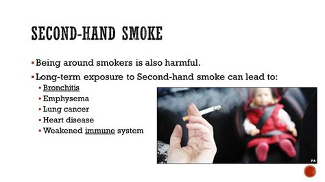 second hand smoke diseases picture 2