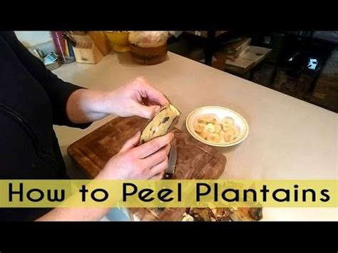 how to peel plantains picture 2