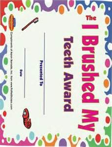 certificates for brushing h picture 1