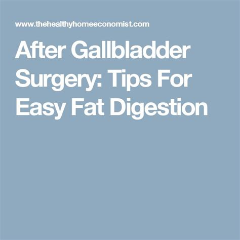 fat digestion after gallbladder surgery picture 1