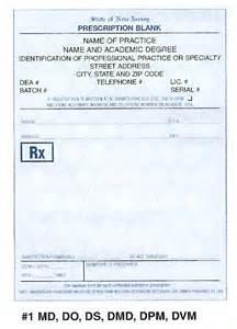 free prescription pads picture 2