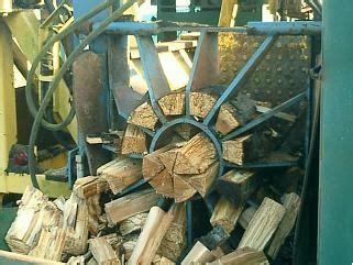 circle saw burns wood creating lots of smoke picture 7