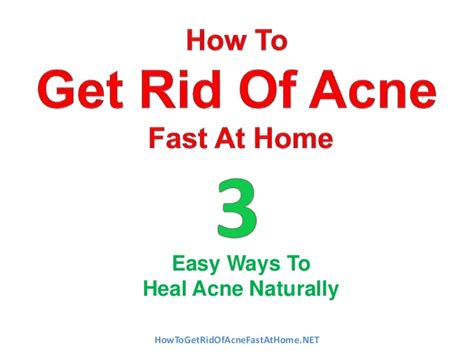 how to get rid of acne with home picture 3