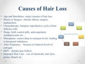 causes for hair loss picture 2