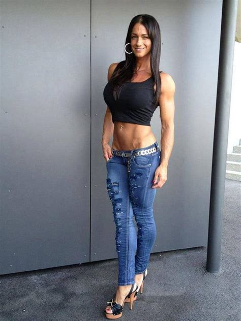 female breast and muscle morph picture 3