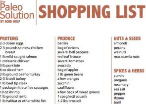 free weight loss shopping list picture 2