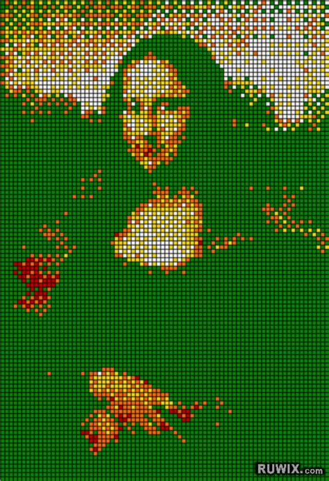 Pixel lips picture 1