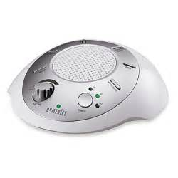 homedics sound spa white noise machine sleep therapy picture 2