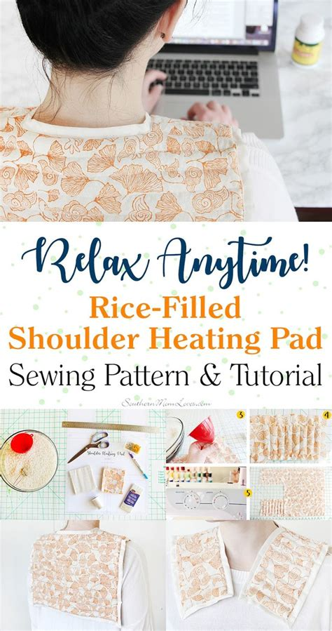 pattern for rice pack for shoulders and back picture 1