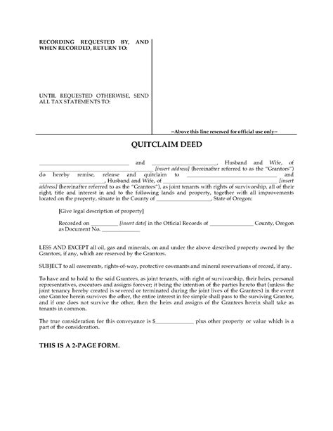 quit deed with joint tenancy georgia picture 5