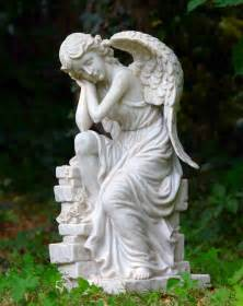 sleeping angel statue picture 3