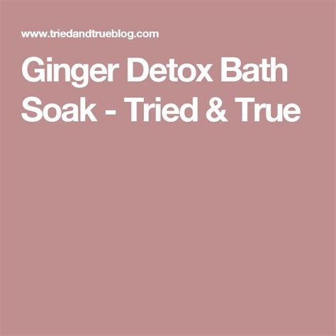 detox bath with ginger for bacterial vaginosis picture 13