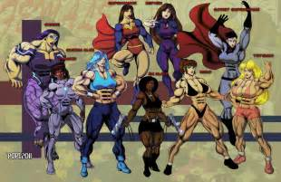 cartoon muscles women picture 10