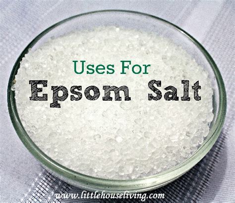 what is epsom salt used for in a picture 3