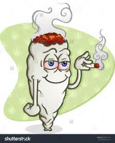 cartoon smoking joint picture 9