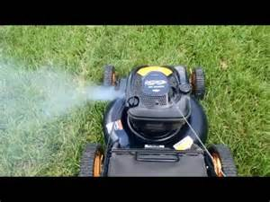 white smoke in lawn mower why picture 10