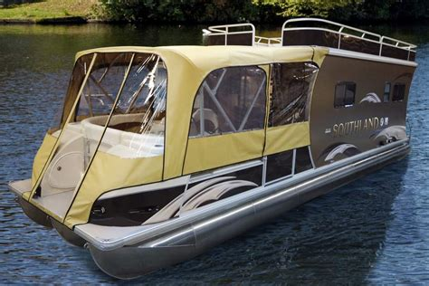 pontoon boat sleep picture 9