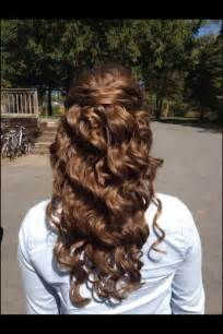 hair down curly for prom picture 3