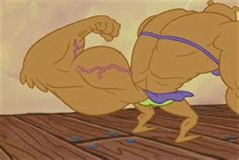 sandy cheeks muscle growth whelk attack picture 2