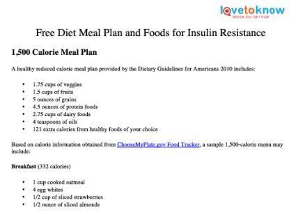diabetic menu plans picture 2
