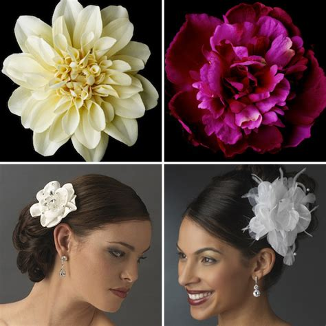 flower hair clips picture 6