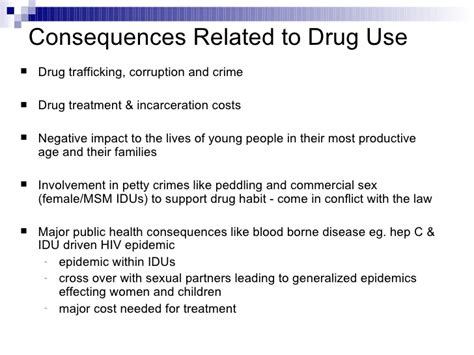 drug overuse consequences picture 1