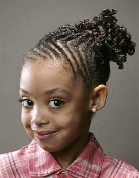 Black hair style for kids picture 7
