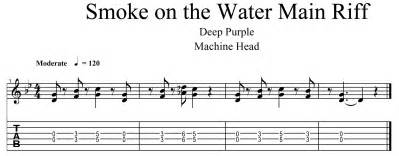 guitar tabs to smoke in the water picture 2