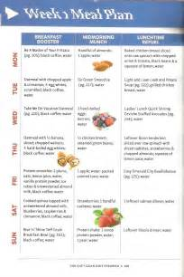 3 hour diet sample meal plans picture 2