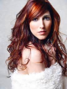 Light brown hair over red picture 2
