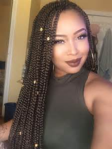 gold and black braiding hair picture 10