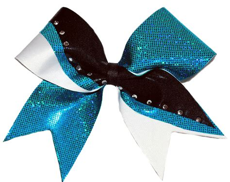 cheerleading hair ribbon picture 3