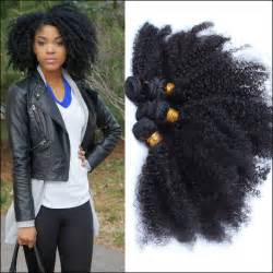 afro humane hair weave picture 15