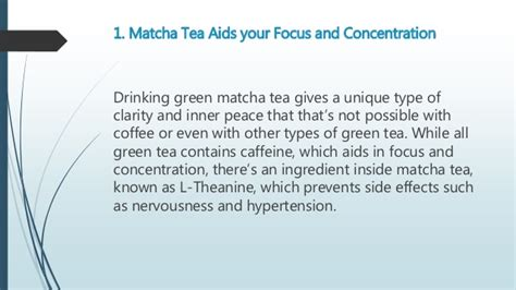 ano ang benefits in green tea picture 1