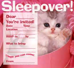 free printable sleepover party invitation picture 21