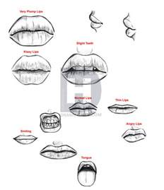 drawing lips picture 5